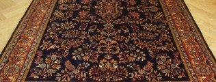 Indian patterned rug
