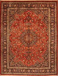 red patterned oriental rug