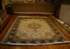 tufted large persian rug