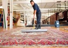 cleaning oriental area rug