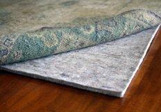 rug pad under rug