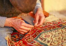 handmade oriental rug